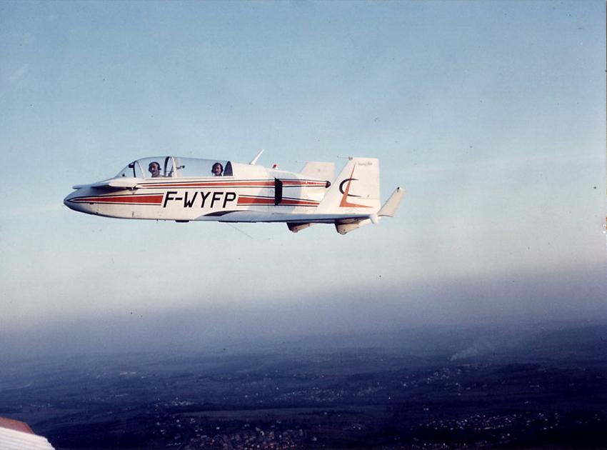 1-Jet Viggen, J. Costes + G. Raveneau, 22-11- 83