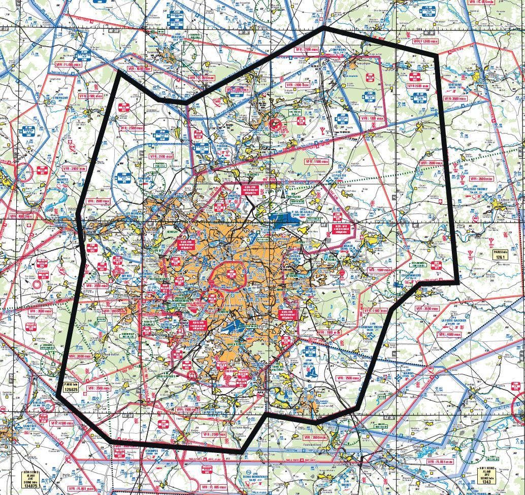 Carte Aeronautique Region Parisienne.Surete Aerienne En Region Parisienne Aerovfr